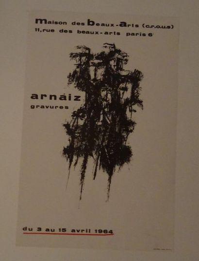 «Arnáiz: gravure», Maison des Beaux-arts...