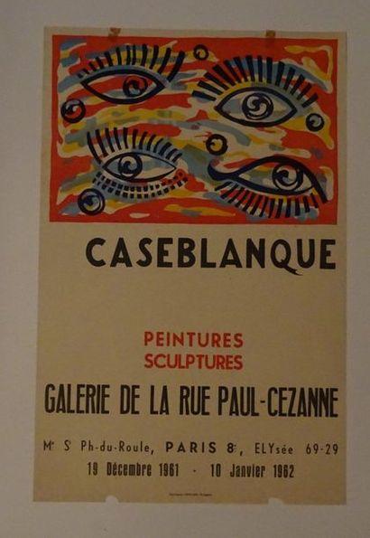 «Caseblanque: peintures, sculptures»,...