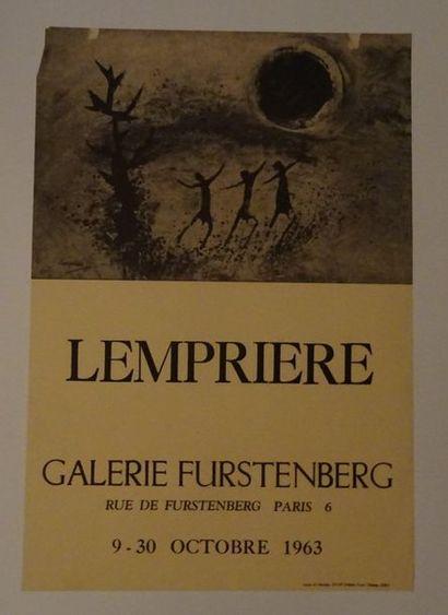 «Lempriere», Galerie Furstenberg, 1963;...