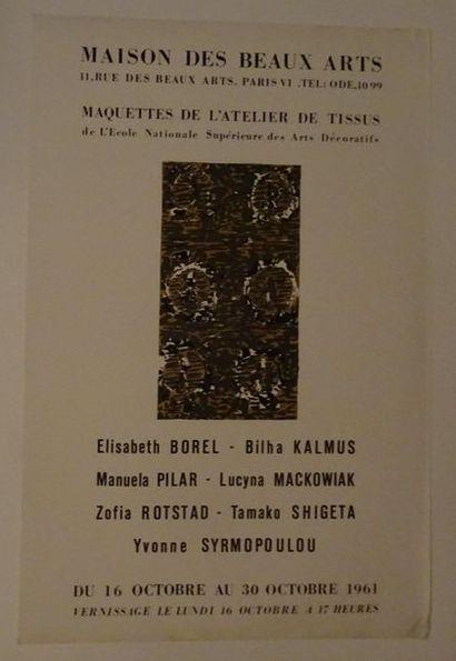 «Maquette de l'atelier de tissus», Maisons...