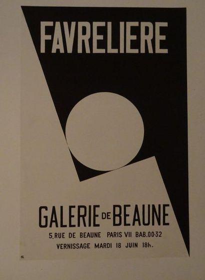«Favreliere», Galerie de Beaune, [60*40...