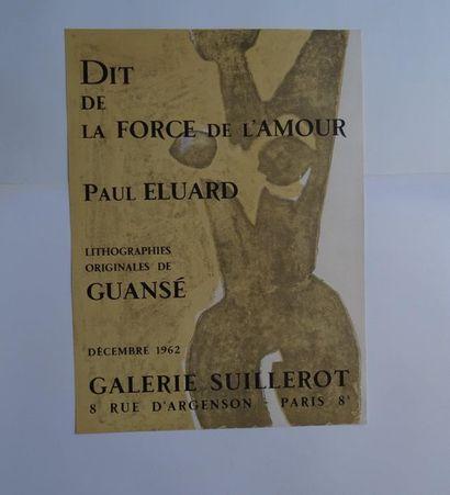 «Dit de la force de l'amour: Paul Eluard»,...