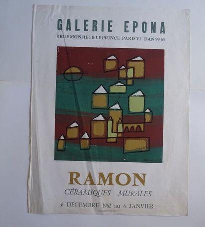 «Ramon: céramiques murales», Galerie Epona,...