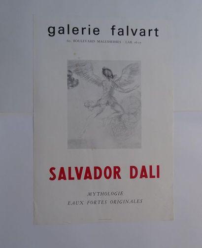 «Salvador Dali: Mythologie, eaux fortes...