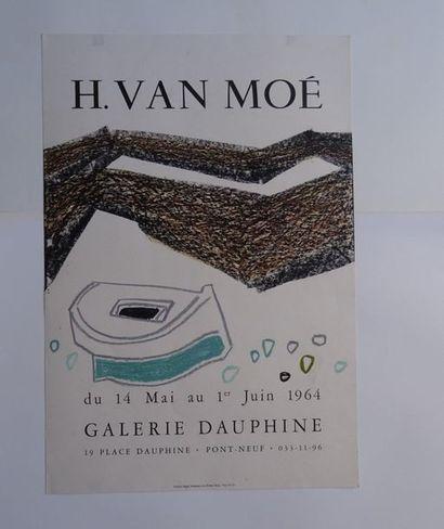 «H. Van Moé», Galerie Dauphine, 1964;...