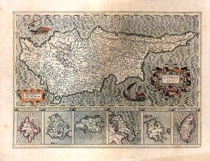 Lot de cartes diverses dont la Corse (environ...