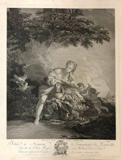 Lot de 9 gravures XVIIIème siècle
