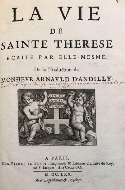 La vie de Sainte-Thérèse écrite par elle-mesme....