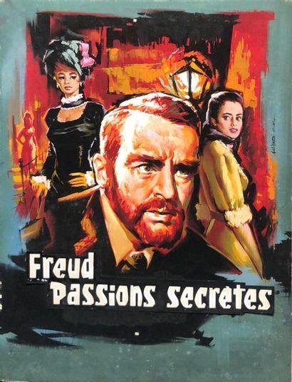 FREUD, PASSIONS SECRETES / FREUD John Huston....