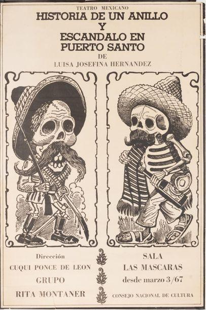 POSADA José Guadalupe (d'après)