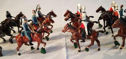 CBG-MIGNOT et autres marques. IIIème République. France. Cavalerie et fantassins...