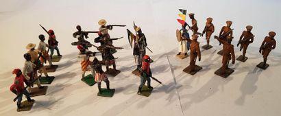 CBG-MIGNOT. IIIème République. Guerre d'Abyssine...