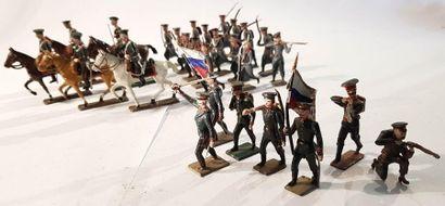 CBG-MIGNOT. IIIème République. Russie. Infanterie...