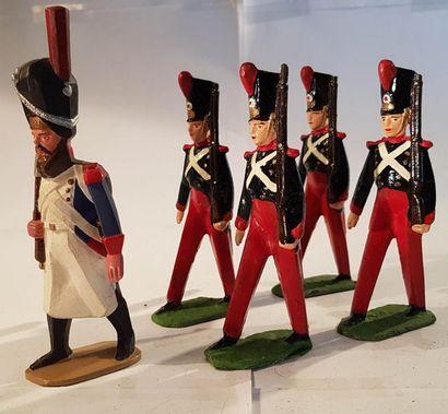 CBG-MIGNOT. France. Figurines stylisées....