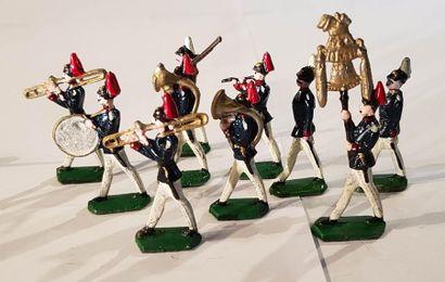 FIGURINES DEMI-RONDE DE BOSSE. VRAC. Diverses marques. IIIème République. Prusse,...