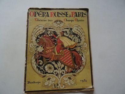 «Opéra Russe à Paris», Œuvre collective...