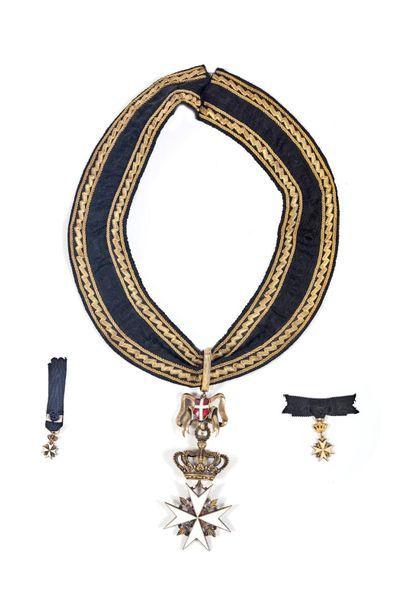ORDRE DE MALTE Croix de bailli d'honneur...