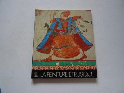 «La peinture étrusque», Massimo Pallottino;...
