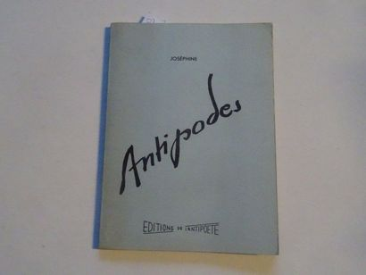 «Antipodes», Joséphine; Ed. Editions de...
