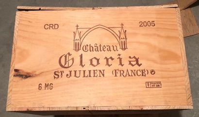 CHATEAU GLORIA / 2005 / 6 BOUTEILLES / MAG/...
