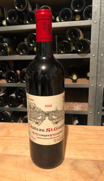 CHATEAU ST GEORGES  / 2008 / 10 BOUTEILL...