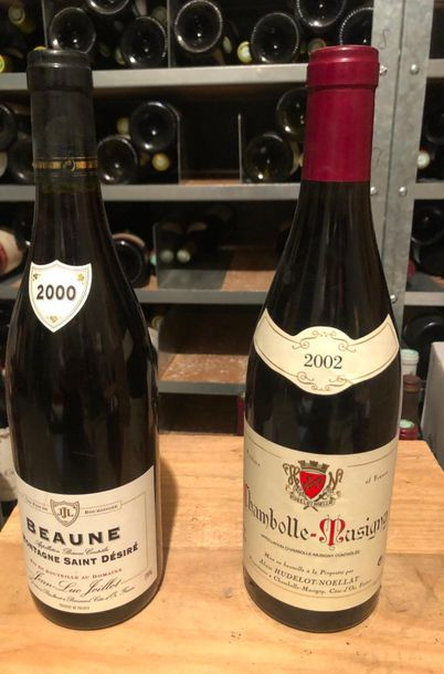 LOT DE 2 BOUTEILLES / 1CHAMBOLLE MUSIGNY/...
