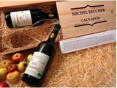 CALVADOS XO/ 2009 / Vins éditions / 2 BOUTEILLES...
