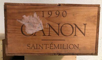 CANON / 1990 / 12 BOUTEILLES / CBO