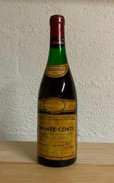 ROMANEE CONTI / 1975 / 4,5cm / ETQ JAUNIE...