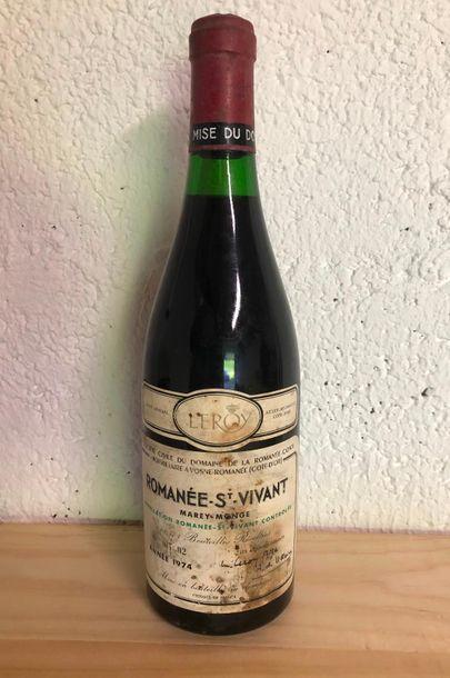 ROMANEE ST VIVANT / 1974 / 2,4cm / ETQ J...