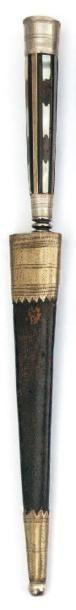 Stylet corse. (Début XIXème siècle) Poignée...