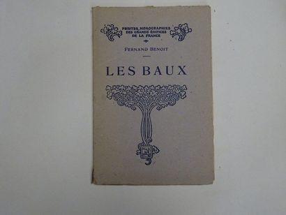 «Les baux», Fernand Benoit; Ed. H. Laurens,...