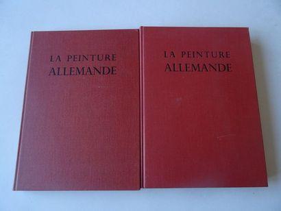 «La peinture Allemande», [tome 1 et 2],...