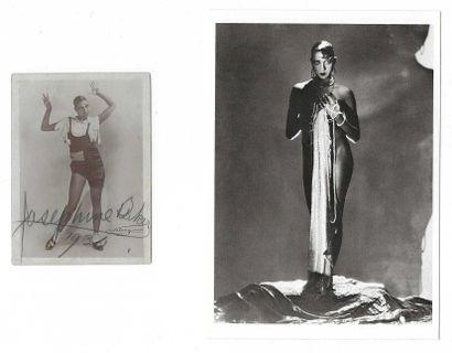 BAKER, Joséphine (1906-1975), chanteuse, danseuse, meneuse de revue franco-américaine.