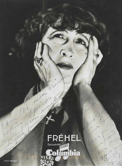 FRÉHEL, Marguerite Boulc'h dite (1891-1951), chanteuse et actrice.