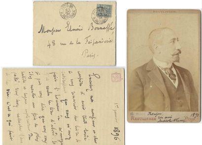 FRANCE, Anatole (1844-1924), écrivain français.