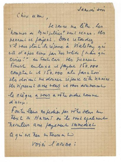 GIONO, Jean (1895-1970), écrivain français.