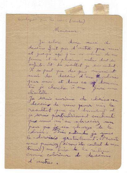 CHAISSAC, Gaston (1910-1964), peintre français.