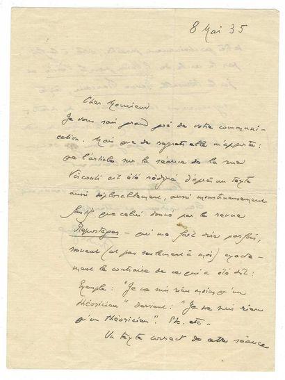 GIDE, André (1869-1951), écrivain français.