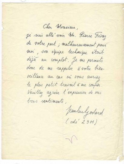 GODARD, Jean-Luc (1930), cinéaste franco-suisse.