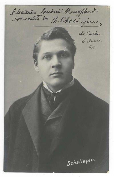 CHALIAPINE, Feodor (1873-1938), chanteur d'opéra et acteur russe.