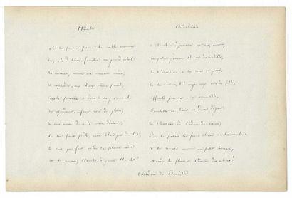 BANVILLE, Théodore de (1823-1891), poète français.