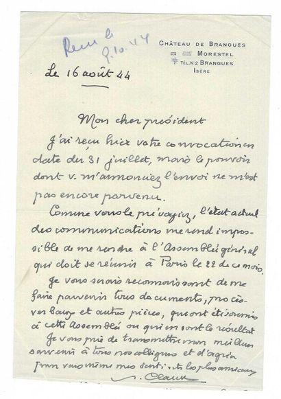 CLAUDEL, Paul (1868-1955), dramaturge, poète, essayiste et diplomate français.