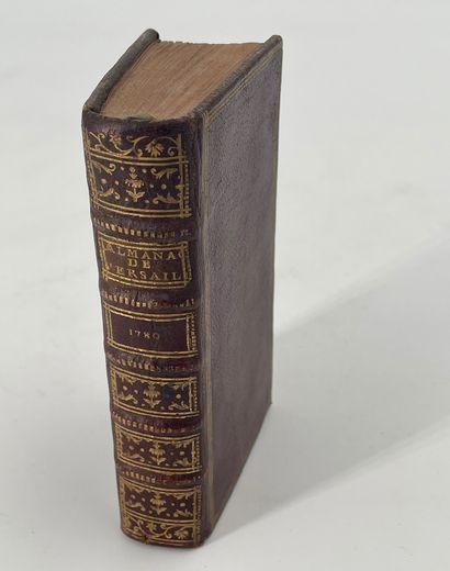 Almanach de Versailles, année 1780, Versailles,...