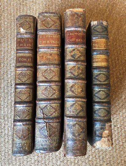 Lot de livres reliés dont Fromond