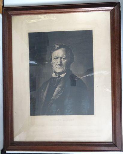 R. de EGUSQUIZA (d'après)  Portrait de Richard...