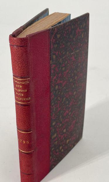 Almanach des prisons, quatrième édition,...