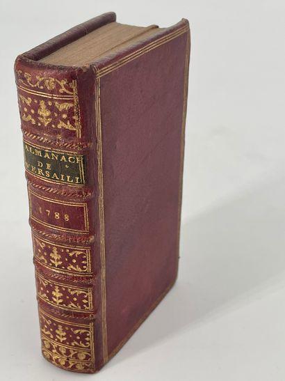 Almanach de Versailles, année 1788, Versailles,...