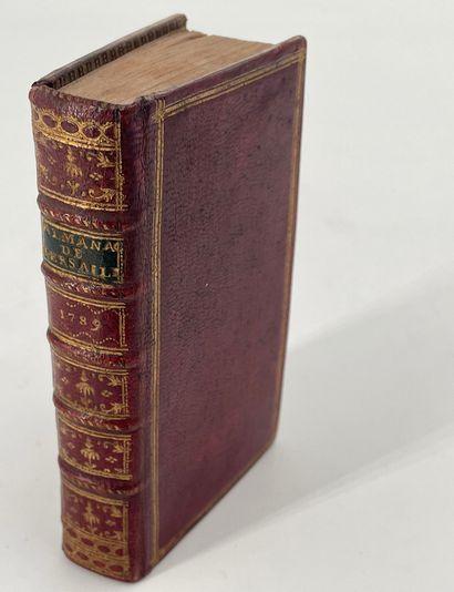 Almanach de Versailles, année 1789, Versailles,...