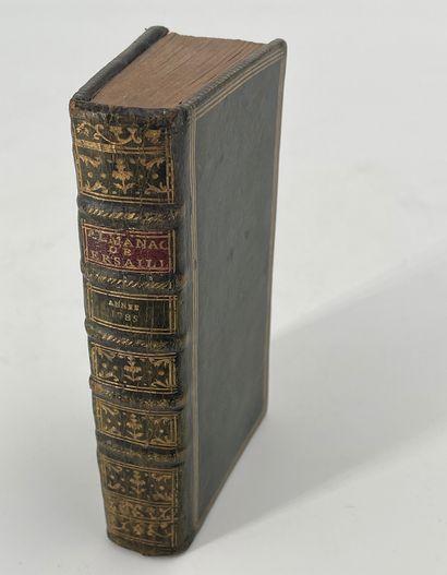Almanach de Versailles, année 1785, Versailles,...